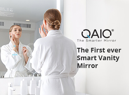 QAIO Smart Mirror The First Ever Smart Vanity Mirror