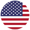 United States of America Flag Icon for Evervue